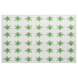 Bromeliad Watercolor Fabric