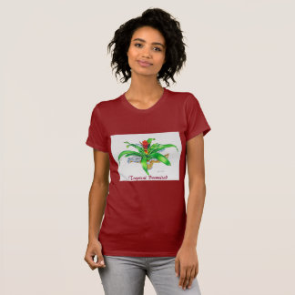 Bromeliad Watercolor T-Shirt
