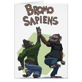 Bromo Sapiens (Students) Greeting Card