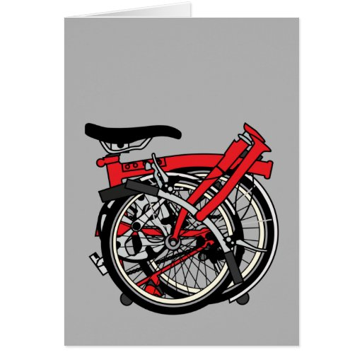 Brompton Bicycle Folded Cards