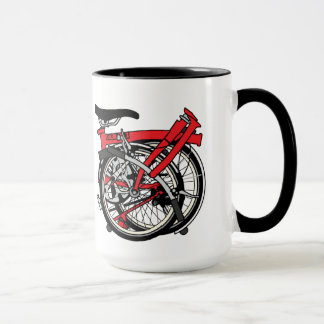 Brompton Bicycle Folded Mug