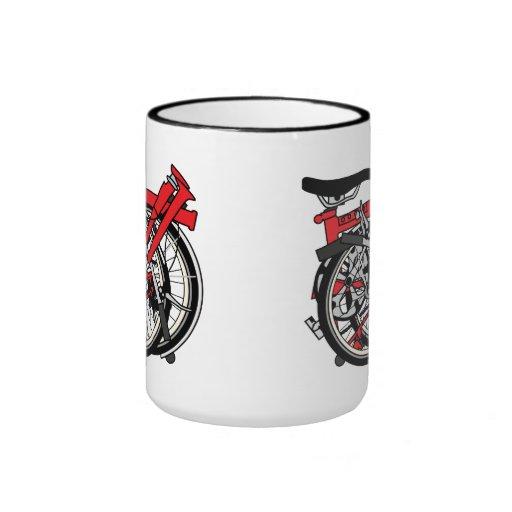 Brompton Bicycle Folded Coffee Mugs