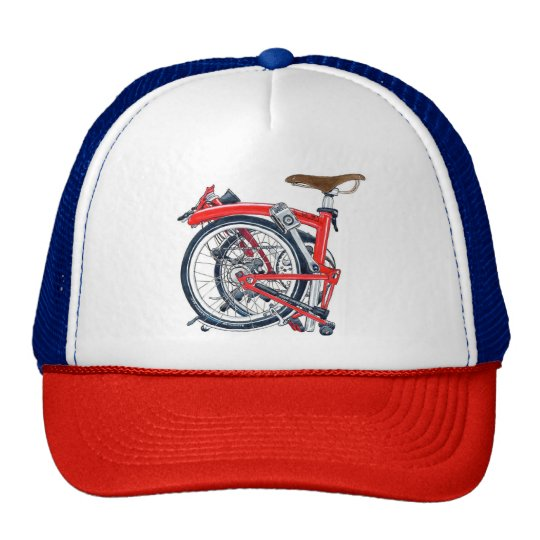 Brompton Bike Retro Cap (Trucker Hat)