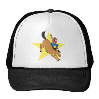 Bronc Rider Trucker Hats