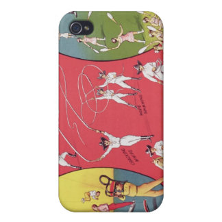 Broncho Bill's Circus, Birmingham c.1890-1910 iPhone 4/4S Cover