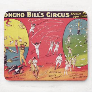 Broncho Bill's Circus, Birmingham c.1890-1910 Mouse Mat