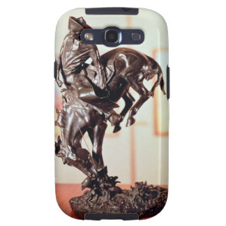 Bronco-Buster (bronze) Galaxy SIII Cases