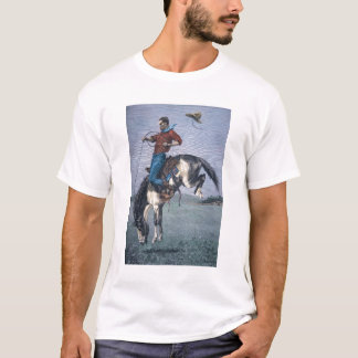 Bronco-Buster (coloured engraving) T-Shirt