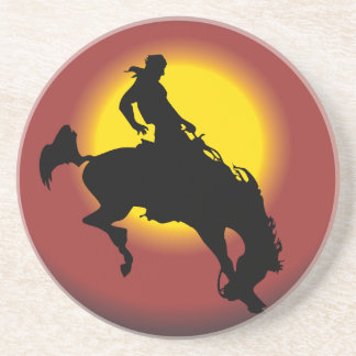 Bronco Buster Drink Coasters