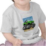 Bronco_Green.png Tee Shirts