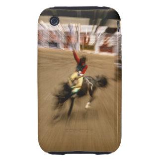 Bronco rider (zoom) iPhone 3 tough case