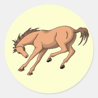 Bronco Round Sticker