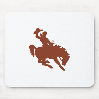Bronco with Rider Mouse Pad