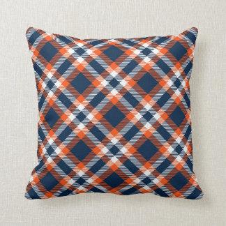 Broncos Colors Plaid Pattern Pillows