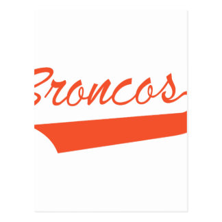 Broncos Postcard