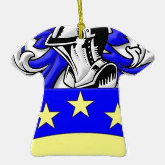 Brongo Coat of Arms Ceramic T-Shirt Decoration