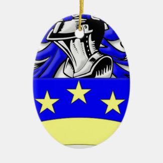 Brongo Coat of Arms Christmas Tree Ornament