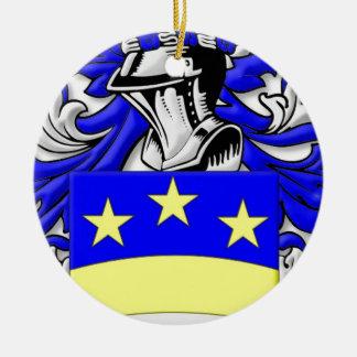 Brongo Coat of Arms Round Ceramic Decoration