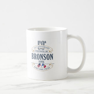 Bronson, Iowa 50th Anniversary Mug