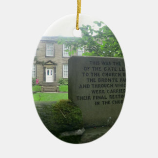 Bronte Parsonage in Haworth Christmas Ornament