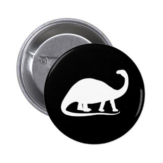 Brontosaurus 6 Cm Round Badge