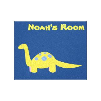 Brontosaurus Canvas art Gallery Wrap Canvas