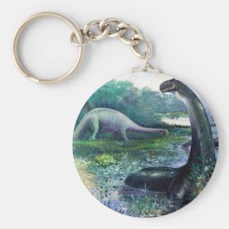Brontosaurus Key Ring
