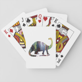 Brontosaurus Playing Cards