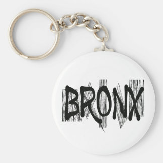 BRONX BASIC ROUND BUTTON KEY RING