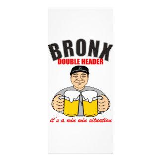 BRONX DOUBLE HEADER CUSTOM RACK CARD