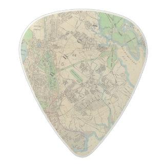 Bronx, New York Acetal Guitar Pick