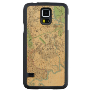 Bronx, New York Carved Maple Galaxy S5 Case