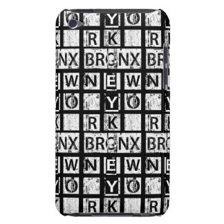 Bronx New York | Grunge Typography iPod Touch Case-Mate Case