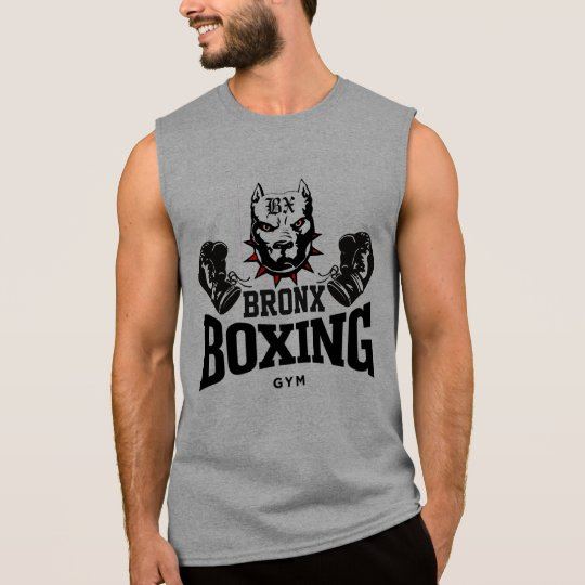 Bronx Pit Bull Boxing Gym Sleeveless Shirt