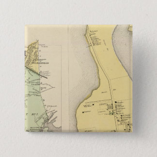 Bronx Westchester County New York 15 Cm Square Badge