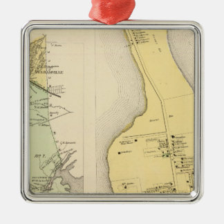 Bronx Westchester County New York Christmas Ornament