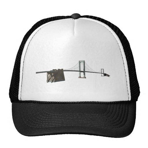 Bronx Whitestone Bridge: 3D Model: Trucker Hat