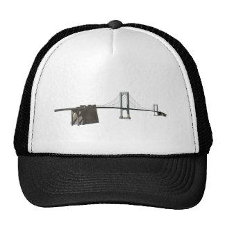 Bronx Whitestone Bridge 3D Model Trucker Hat