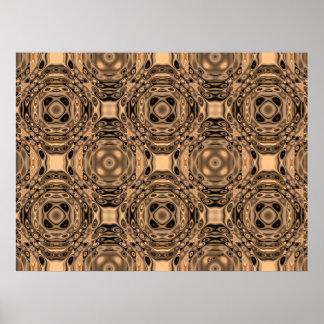 Bronze Age Geometric Print