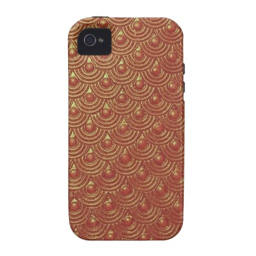 Bronze Age Scales iPhone 4 Cover