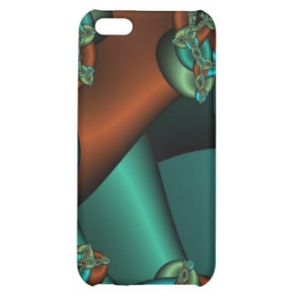 bronze and green fractal iphone case case for iPhone 5C