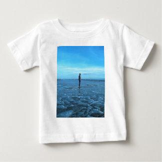 Bronze Beach Sculpture Baby T-Shirt