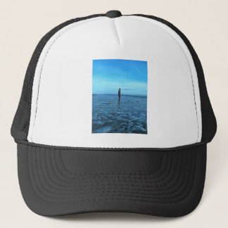 Bronze Beach Sculpture Trucker Hat