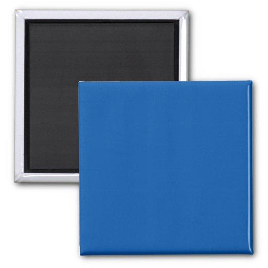 Bronze Blue Customisable Template Blank Magnet