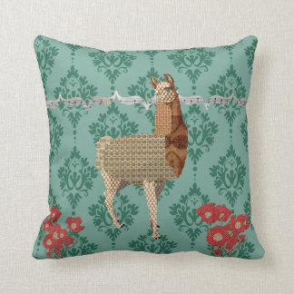 Bronze Boho Llama  Mojo Pillow