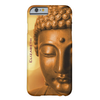 Bronze Buddha Statue Personalized Barely There iPhone 6 Case