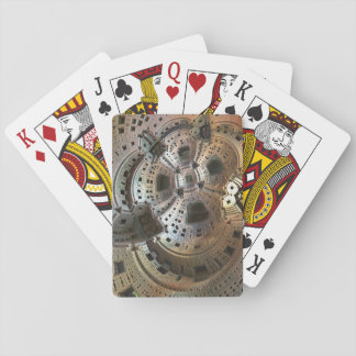 Bronze City Fractal Classic Playing Cards