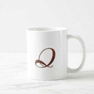 Bronze Clay Monogram Mugs