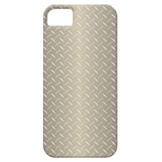 Bronze Diamond Plate Barely There iPhone 5 Case
