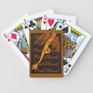 Bronze Dragon Body Bicycle Playing Cards